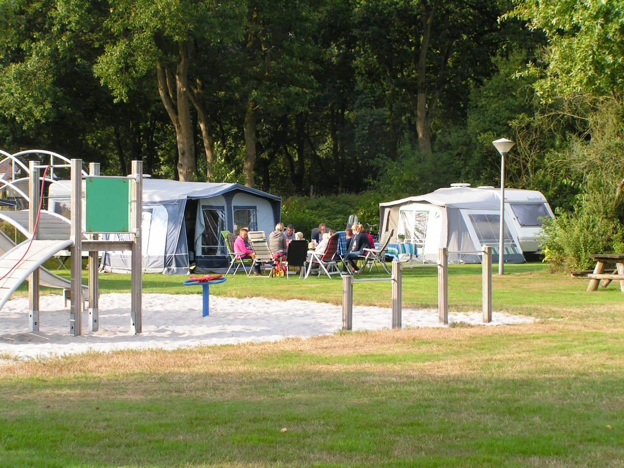 gezins camping