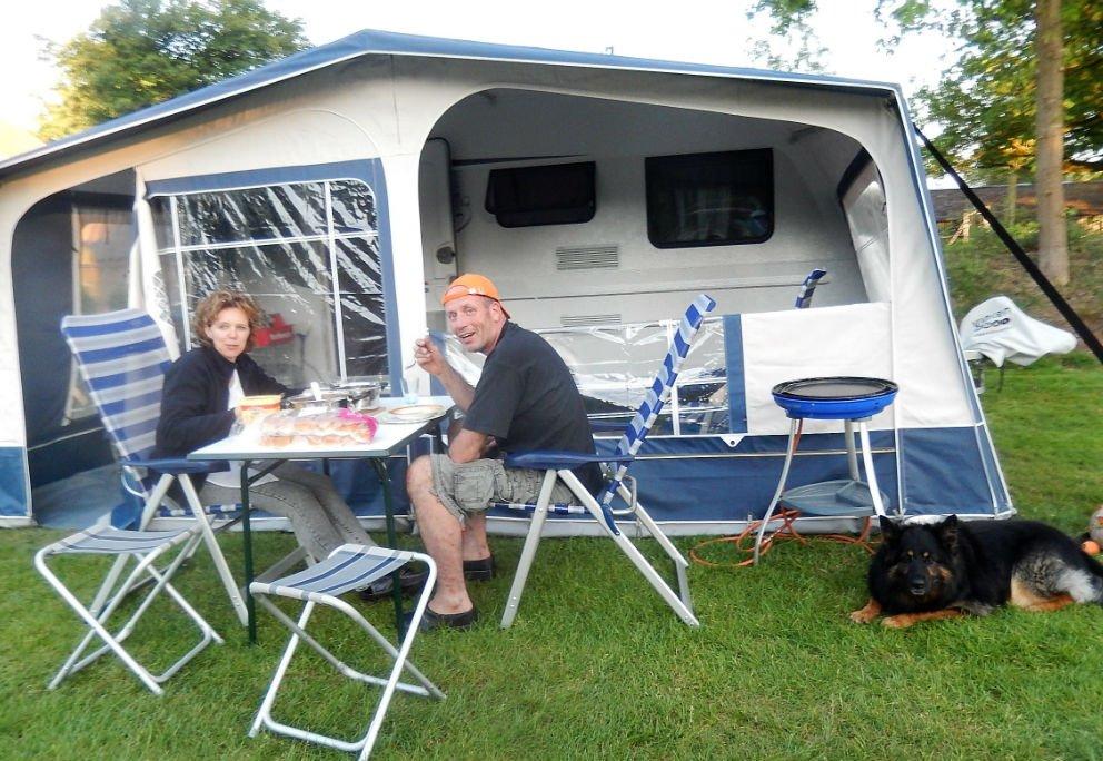 Kamperen met hond op Camping 't Witte zand Meppen