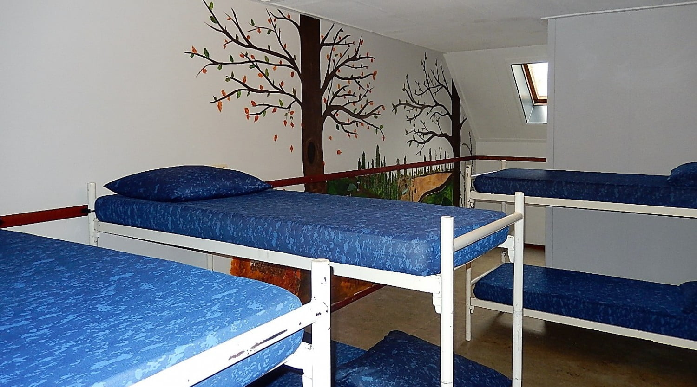 groepsaccommodatie slaapkamer 1