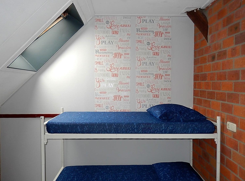 groepsaccommodatie slaapkamer 2